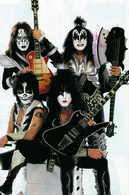 I Wanna Rock and Roll All Night Kiss