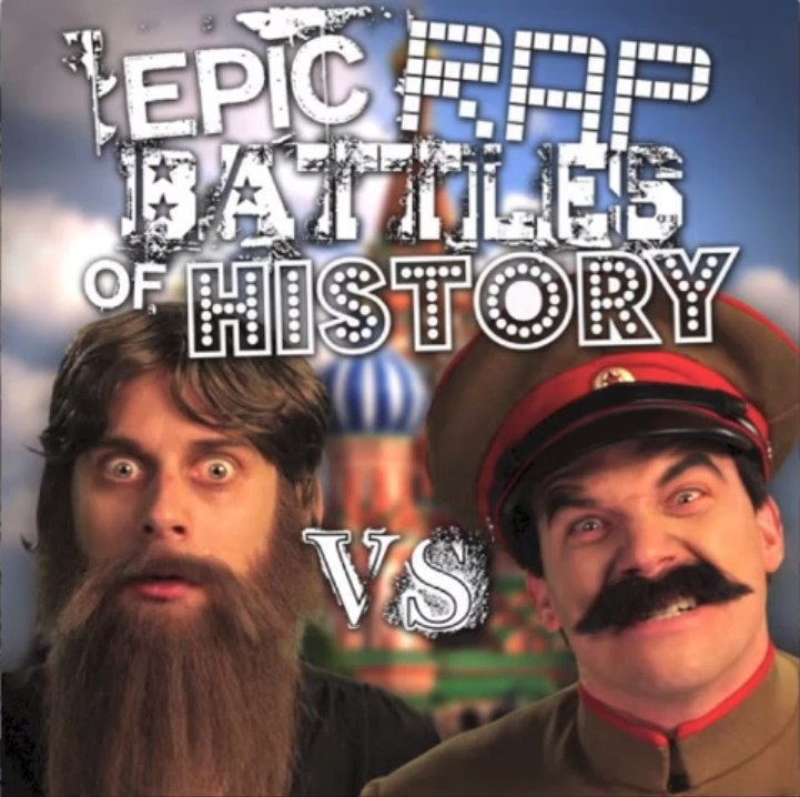 Rasputin vs Stalin Epic Rap Battles of History