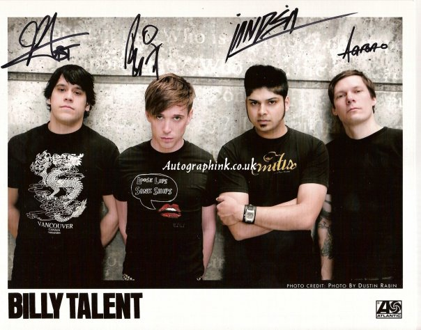 Burn The Evidence Billy Talent