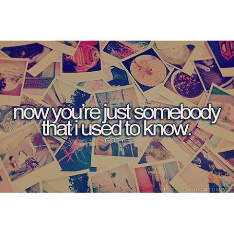 Somebody That I Used To Know Know Gotye ft. Kimbra
