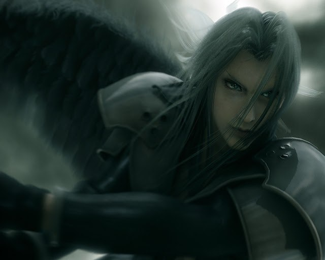 Sephiroth One-Winged Angel Final Fantasy 7: Advent Children