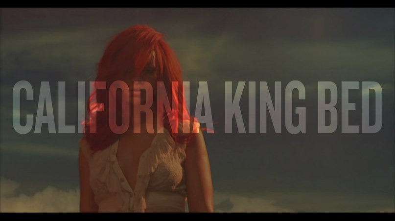 California King Bed Rihanna