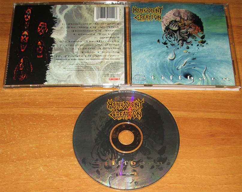 Buried in a nameless grave Malevolent Creation
