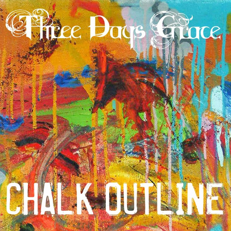 Chalk Outline Three Days Grace