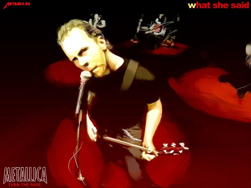 Turn the page Metallica