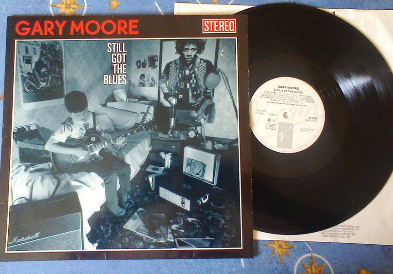 Stil Got The Blues Gary Moore (Rock Ballads)