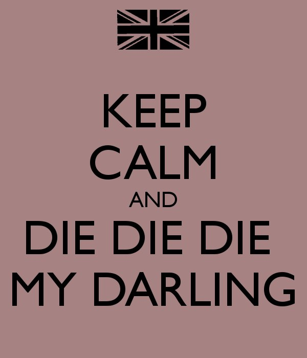 Die, Die My Darling Metallica