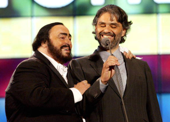 Time to say goodbye - minus (-1 tones) Andrea Bocelli & Luciano Pavarotti