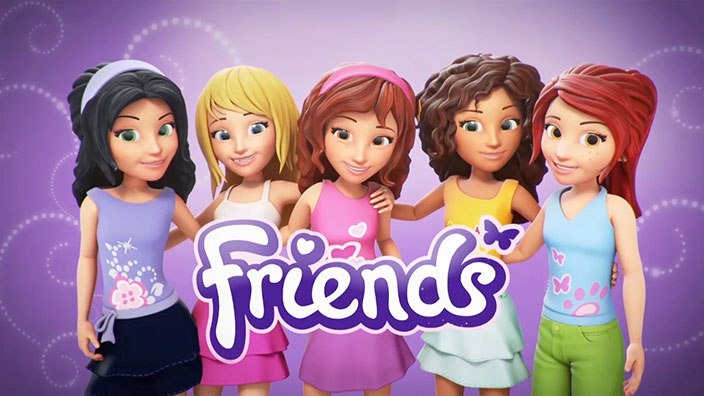 BFF LEGO Friends