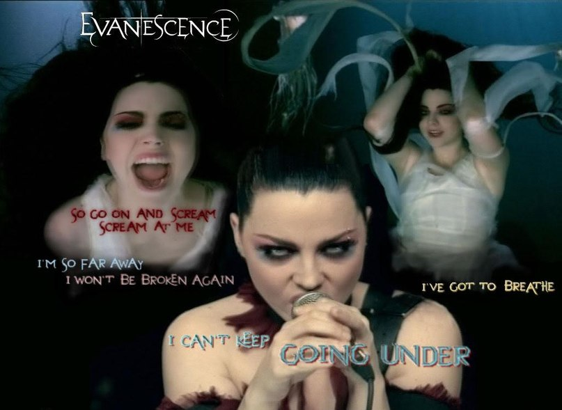 Going Under Evanescence