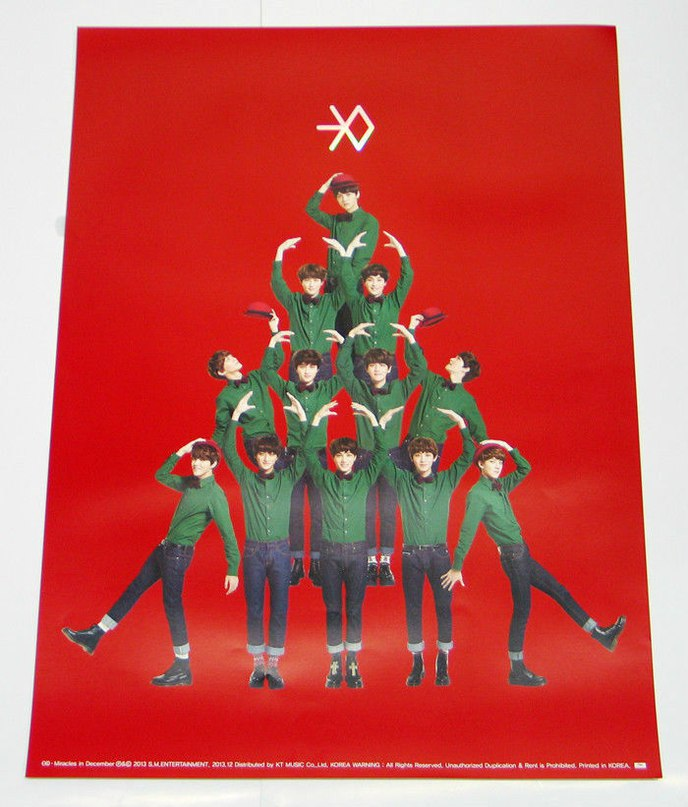 Miracles In December EXO-M