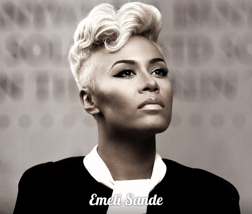 I wanna sing, shout and scream Emeli Sande
