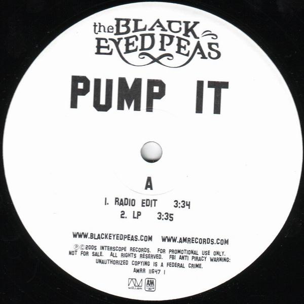 Pump It Black Eyed Peas