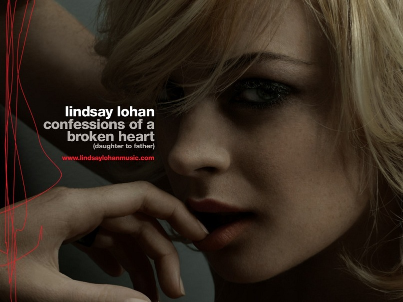 Confession Of A Broken Heart Lindsay Lohan